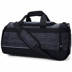 MIER 20 Inch Gym Bag With Shoe Compartment Men Duffel Bag, M