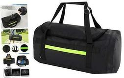MIER 60L Water-Resistant Travel Duffel Bag Heavy Duty Gym Sp