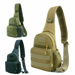 Miliary EDC Tactical Backpack Sling Bag Bug Out Assault Shou