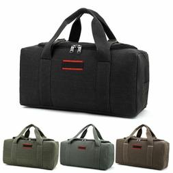 military canvas duffle gym bag sports travel