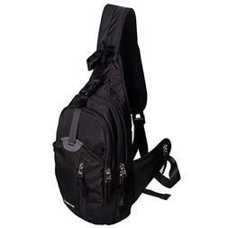 WASING Military Sport Pack Shoulder Sling Backpack Men Women