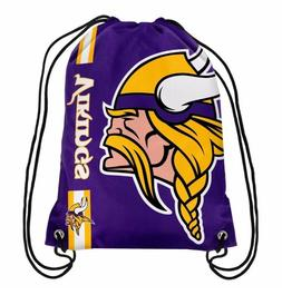 Forever Collectibles Minnesota Vikings Big Logo Drawstring B