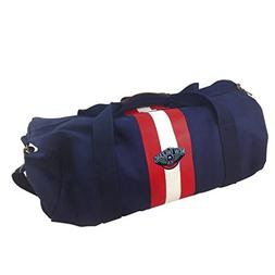 NBA New Orleans Pelicans Blue Rugby Duffel Bag