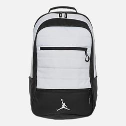NEW Nike Air Jordan Airborne Backpack Black White Flight Lap