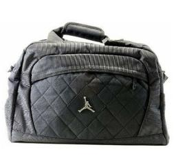 NEW NIKE AIR JORDAN JUMPMAN LOGO BLACK MEDIUM DUFFLE GYM BAG