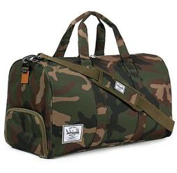 NEW HERSCHEL SUPPLY CO. NOVEL WOODLAND CAMO MENS DUFFLE GYM