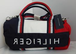 NEW Tommy Hilfiger Kids Mini Gym Signature Duffle Bag Red/Wh