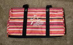 New; Large Thirty-One Utility Tote Girls on the Run Series