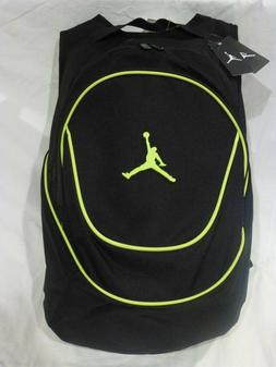 NEW NIKE AIR JORDAN JUMPMAN GYM BACKPACK LAPTOP BAG BLACK/GR