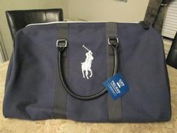 NEW Ralph Lauren Polo Weekend Hand Bag travel Weekender Deep