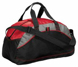 NEW Port & Company Improved Small Duffel Bag Gym Travel Carr