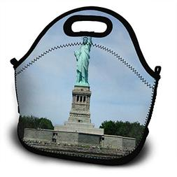 New York City Statue Of Liberty Lunch Bag Womens Insulated Z
