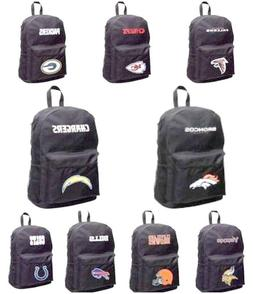 NFL BACKPACK SPRINT BLACK NEW W/ TAGS NEW GYM, STUDENT BAG Y