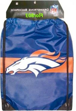 NFL Denver Broncos Drawstring Backpack