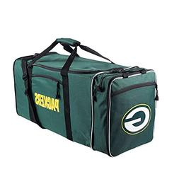 "NFL Green Bay Packers NFL Steal Duffel, Measures 28"" in Leng"