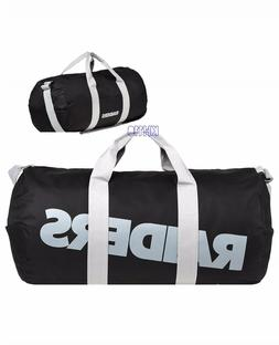 NFL Oakland Raiders Vessel Barrel Duffle Gym Bag