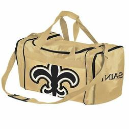 FOCO NFL Orleans Saints Core Duffel Gym Bag New