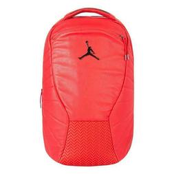 Nike Air Jordan Retro 12 XII Backpack Laptop Bag Gym Red Bla