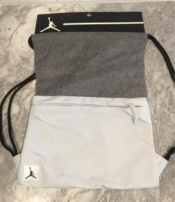 NIKE AIR JORDAN TRAINING GYM BAG PIVOT NEW WITH TAGS GRAY BL