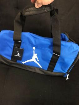 Nike Air Jordan DUFFLE Jumpman Kids Trainer GYM Bag BLUE 7a1