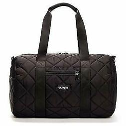 "NWT Vooray Black Quilted 16"" Gym Bag"