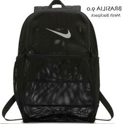 Nike BRASILIA Mesh 'See Through' School Gym Backpack BA6050
