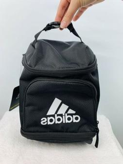 c9d37f9489c7 NWT Adidas Excel Insulated Gym Lunch Bag 3 Zippered Pack Bla