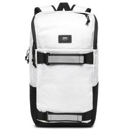 NWT VANS Off The Wall OBSTACLE SKATE PACK Backpack WHITE Tra