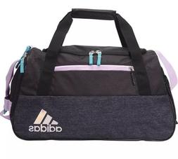 NWT Adidas Squad III Women's Gym Bag Black/Lila Over Night D