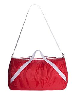 Liberty Bags Nylon Duffel With Adjustable Shoulder Strap