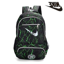 NIKEO Large Capacity Canvas Backpack Breathable <font><b>Gym