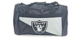 Oakland Raiders Duffle Bag NFL Football Licensed Gym Tote Ca