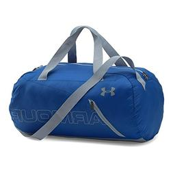 Under Armour Packable Duffle Bag, Royal/Silver, One Size