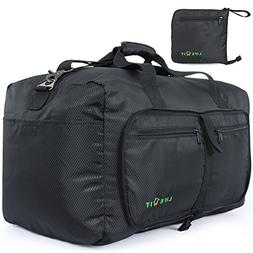 Venture Pal Packable Sports Gym Bag with Wet Pocket & Shoes