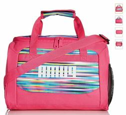 PUMA Pink Duffle Bag, Gym, Carry On, Overnight Tote, Dance,