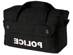 Police Logo Black Tactical Gear Travel Duffel Bag