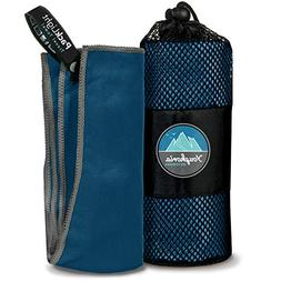 Youphoria Outdoors Quick Dry Travel Towels with Carry Bag -