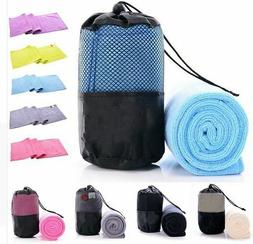 Quick Drying Towel Gym Sport Travel Camping Microfiber Cloth