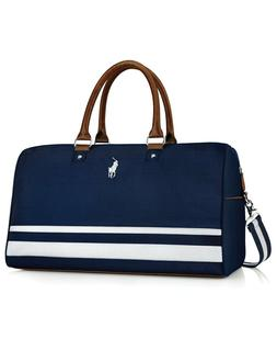 RALPH LAUREN polo fragrances blue duffle weekender carry on