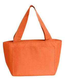 Liberty Bags Recycled Cooler Tote_Orange_All