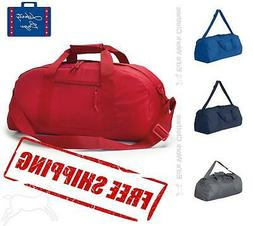 recycled large duffel gym bag 8806 size