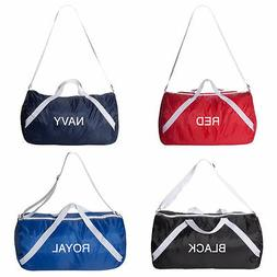 Liberty Bags - Roll Bag Gym Sports Nylon Duffel Bag 18x10x7.