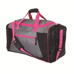 Duffel Bag For Women With Shoe Compartment Large Gym Pink Yo