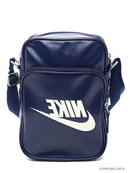 NIKE Small Shoulder Messenger Bag Navy