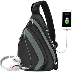Sling Bag Water-Resistant Shoulder Chest Crossbody bags Ligh