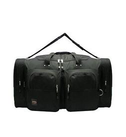Small BLACK DUFFELBAG DUFFEL Gym  BAG Bags New Carry On Tote