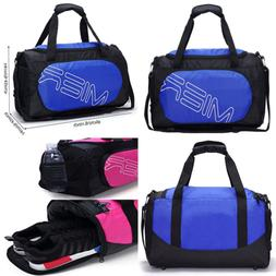 MIER SMALL Gym Sports Bag For Men & Women W Shoes Compartmen