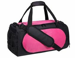 MIER Small Gym Sports Bag for Women Ladies and girls with Sh