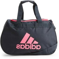 Adidas small Women's black and pink sports, gym travel duffe