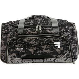 Fila Source Small Gym Duffel Bag - Black Digi Camo